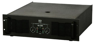 2 Channel Analogue Audio Amplifier 2x1500W For Subwoofers In Nightclub And Concert