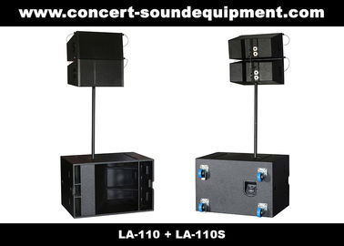 "চীন 380W Line Array Speaker , With 2x1""+10"" Neodymium Drivers For Living Event , DJ , Party And Installation পরিবেশক"