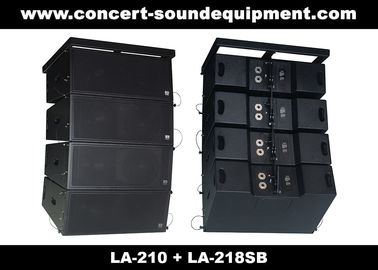 "চীন Concert Sound Equipment / 680W Line Array Speaker With1.4""+2x10"" Neodymium Drivers পরিবেশক"