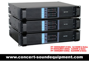 চীন 4 X 1300W Switching Power Amplifier FP 10000Q With SK Power Transistors And NEUTRIK Connectors পরিবেশক